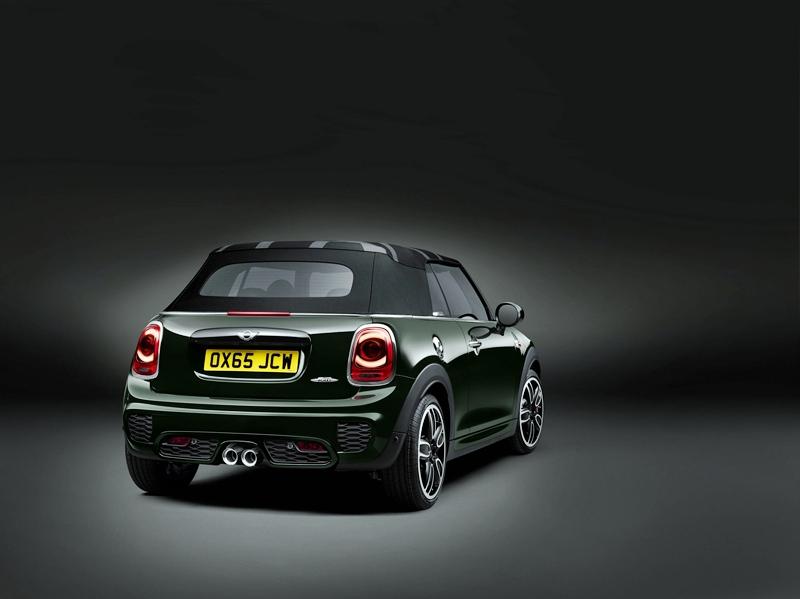 El nuevo Mini John Cooper Works Cabrio