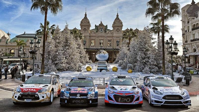 Monte Carlo Campeonato del Mundo de Rallyes de la FIA