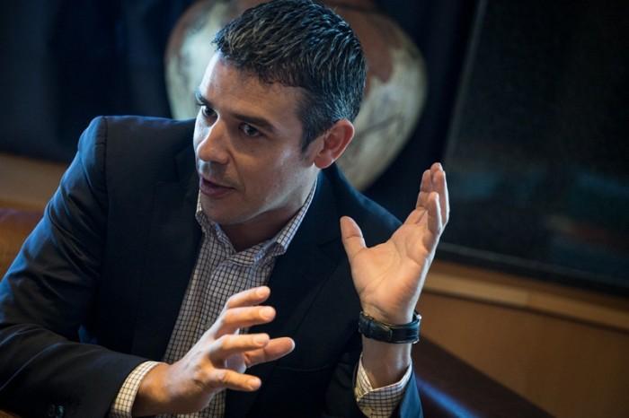 Narvay Quintero, consejero de Agricultura, Ganadería,  Pesca y Aguas del Gobierno de Canarias. / ANDRÉS GUTIÉRREZ