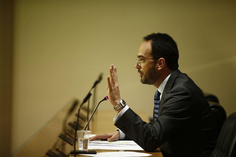 El portavoz del Grupo Socialista en el Congreso de los Diputados, Antonio Hernando. / EP