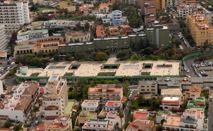 La nueva estación de guaguas se ubicará junto al antiguo edificio situado en la calle de El Pozo. / M.P.P