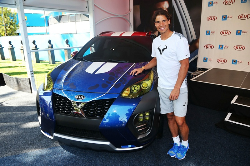 Rafa Nadal Kia X-car Kia Sportage 1