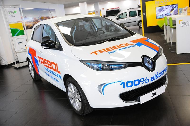 Renault Zoe Autoescuela Trebol