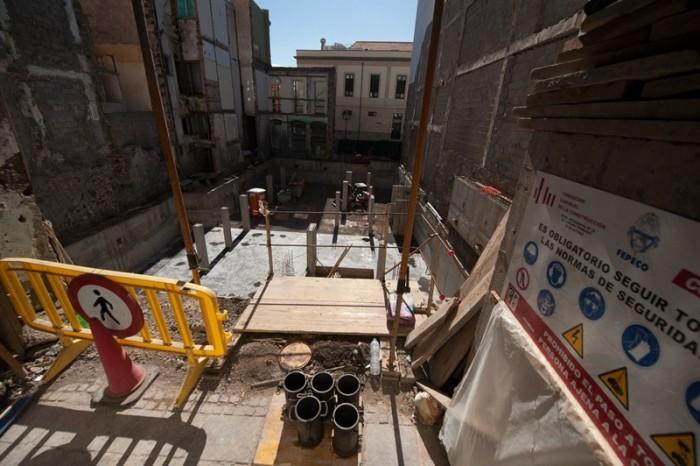 El sector de la construcción se ha convertido en uno de los motores de la recuperación económica en la capital, en el que vuelve a crecer. / FRAN PALLERO