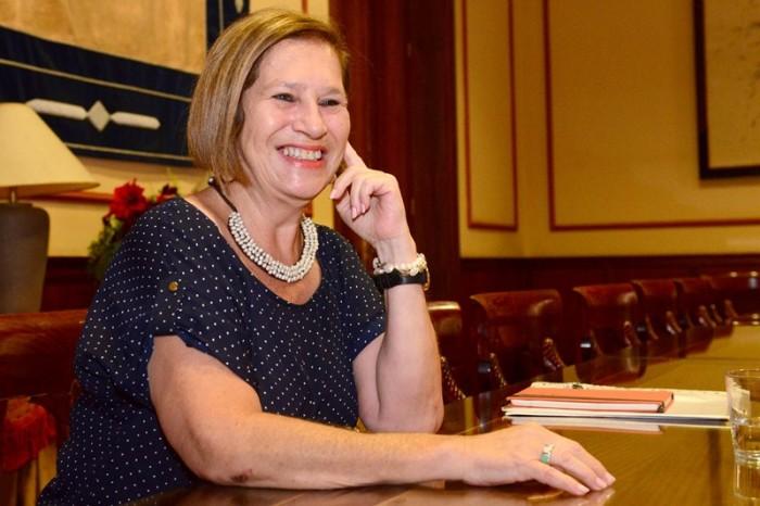 Marisa Zamora es la concejal responsable de Organización, Tecnología y Participación Ciudadana. / SERGIO MÉNDEZ