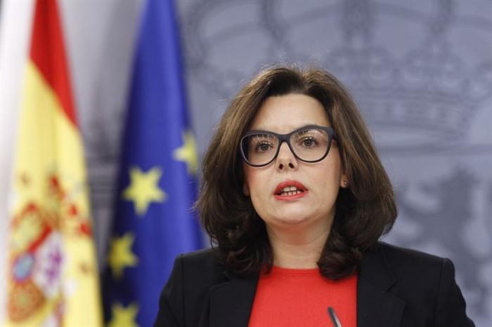 Soraya Sáenz de Santamaría. | EP