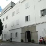 Fachada del centro Febles Campos, en la capital tinerfeña. / FRAN PALLERO