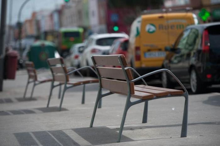 Asecu pide más mobiliario urbano en algunas zonas. | F. P.