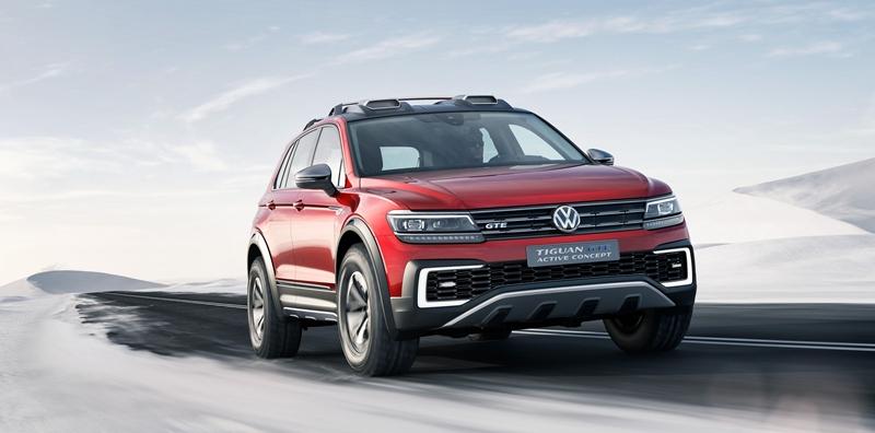 Volkswagen Tiguan GTE Active Concept. | DA