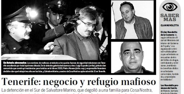 Camorra en Tenerife: veinte años de impunidad
