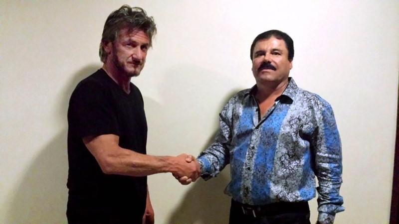 Sean Penn y el Chapo Guzmán. / ROLLING STONE
