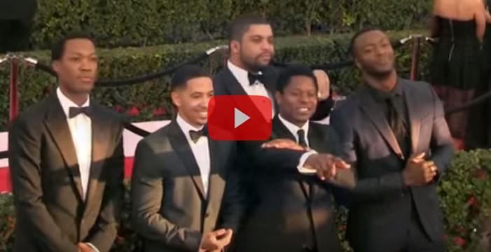 El Sindicato de Actores homenajea al talento negro en su ceremonia de premios