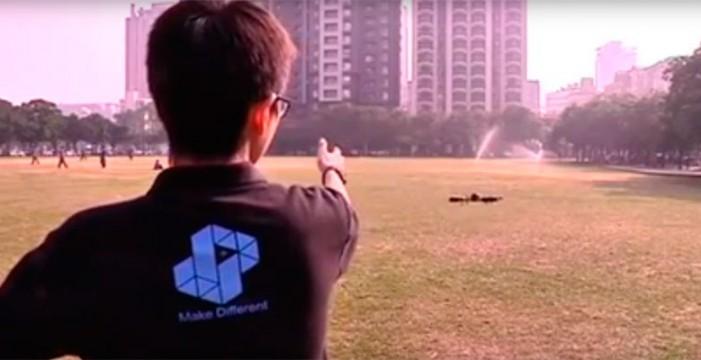 Así se controlan drones al estilo Jedi con una app