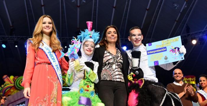 Castorcitos gana el concurso de murgas infantiles