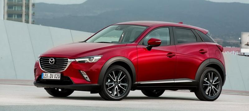 el SUV Mazda CX-3