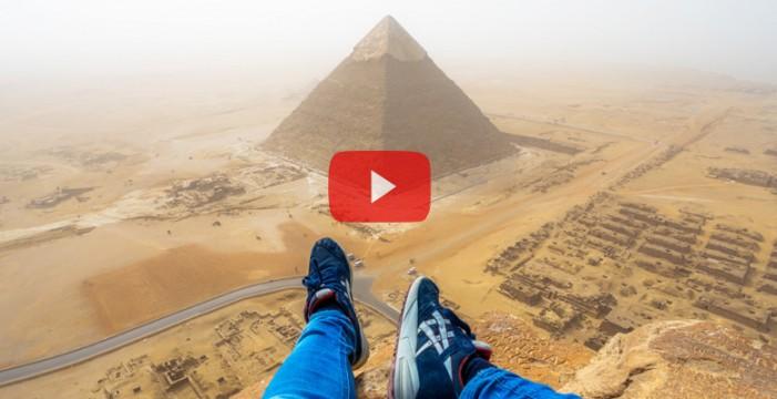 Escala la Gran Pirámide de Guiza en 8 minutos