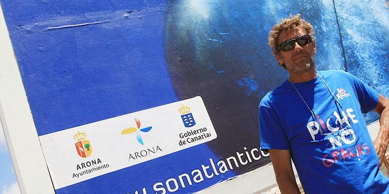 Hanquet reside en Arona y lleva más de 30 años en Canarias. / DA