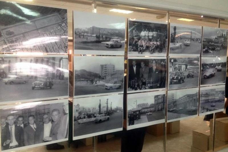Exposición histórica del automovilismo en Canarias