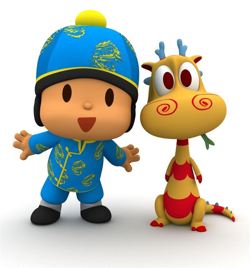 Pocoyó desembarcará en el canal infantil de la televisión estatal de China a partir del primer trimestre de 2016. / EP