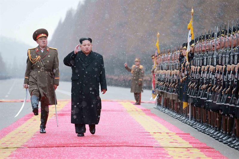 El dirigente de Corea del Norte, Kim Jong Un KCNA KCNA / REUTERS