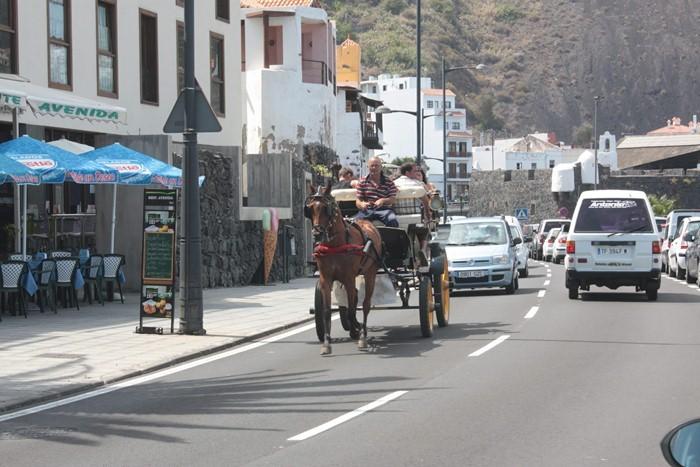 El minitren será un complemento a los paseos en calesa por el casco histórico de la localidad. / DA
