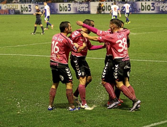 Partido de la Liga Adelante disputado entre Ponferradina y Tenerife.  Los locales quieren hacer buenos los puntos de Ponferrada. | A.F.B.
