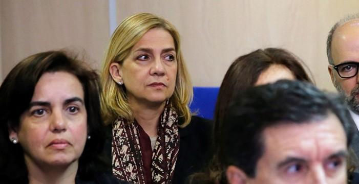 El fiscal aporta un nuevo informe para reforzar que la infanta no defraudó a Hacienda