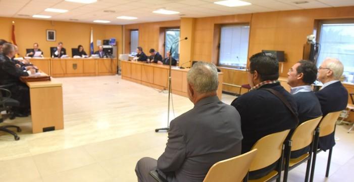 """Antonio Plasencia, José Enrique Morales y Pedro Sicilia firman el acuerdo de """"culpabilidad"""" en el caso Áridos para evitar la la entrada en la cárcel"""
