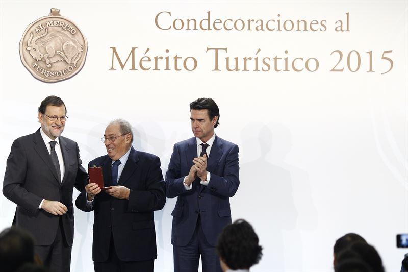 MEDALLAS MÉRITO TURÍSTICO 2015