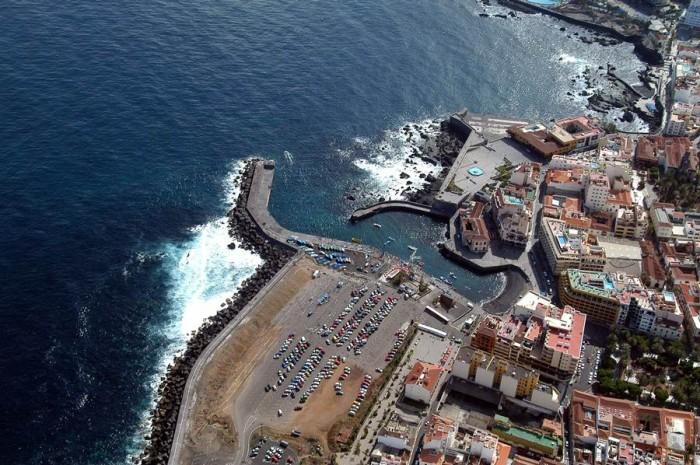 Zona en la que se construirá el muelle deportivo y pesquero de Puerto de la Cruz y que también tendrá un área de aparcamiento. | M. P. P.