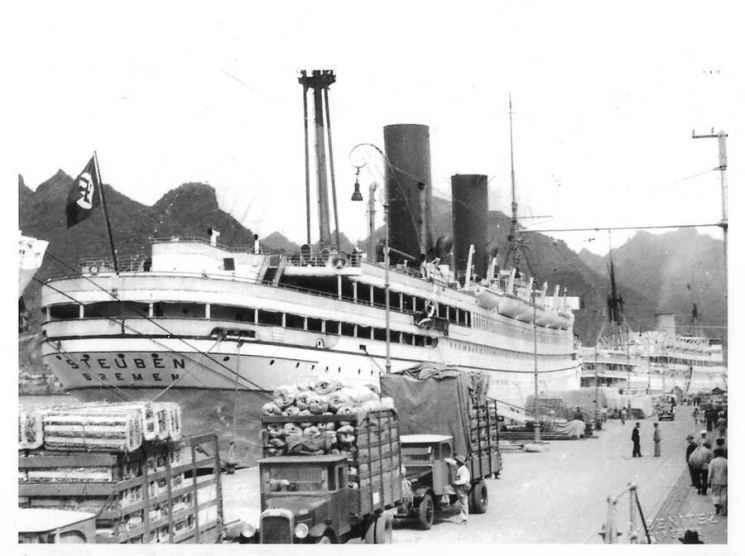 nazis Crucero Steuben