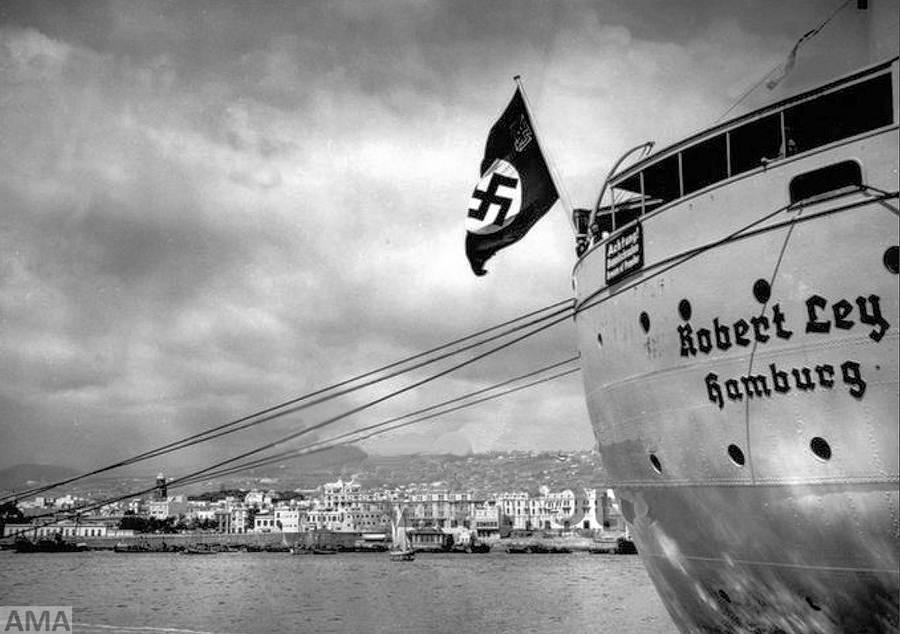 nazis crucero Robert Ley
