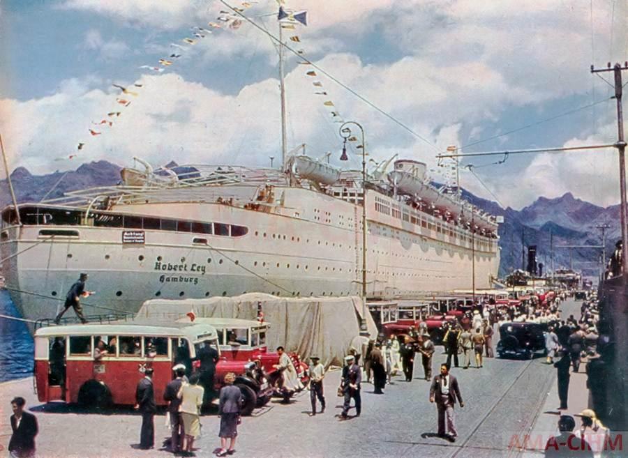 naziscrucero Robert Ley