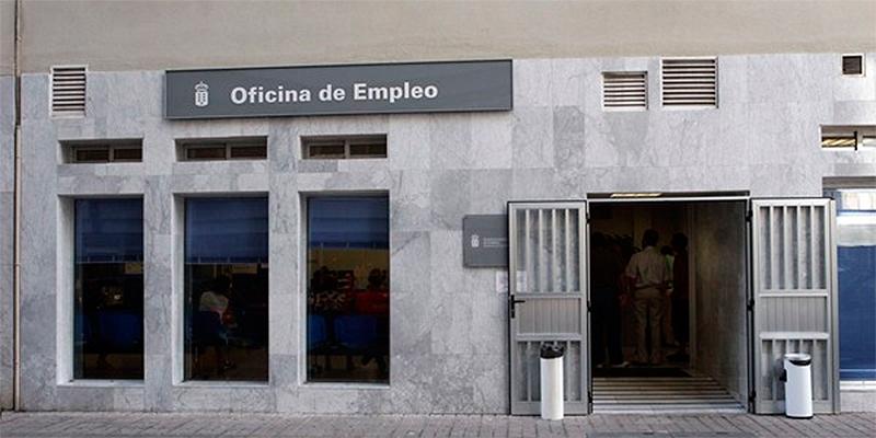 Oficina de empleo. Paro Canarias