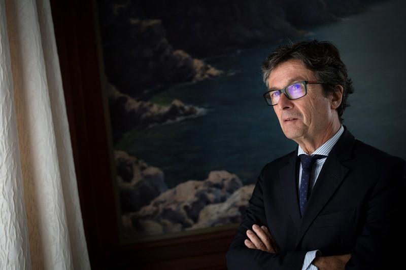 """""""Soy testigo de que, bancariamente, la crisis comenzó antes aquí, en    agosto de 2007"""". / ANDRÉS GUTIÉRREZ"""