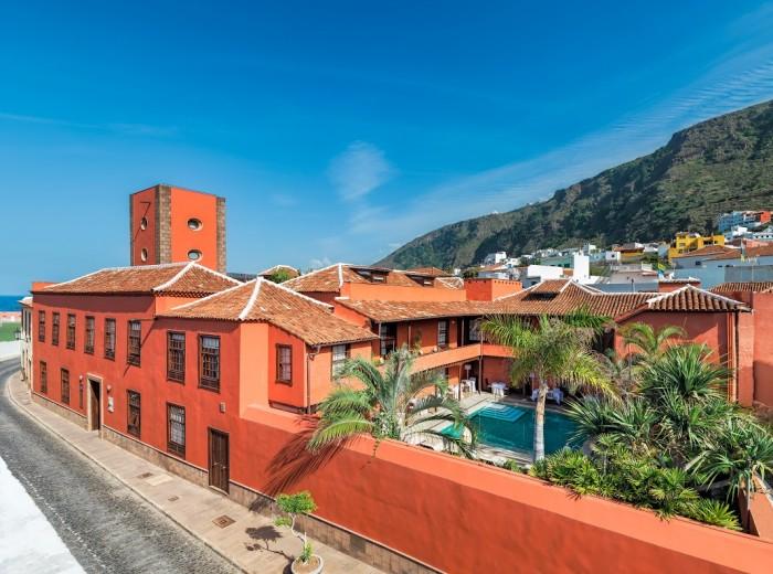 El hotel San Roque fue el primero en Garachico. /DA