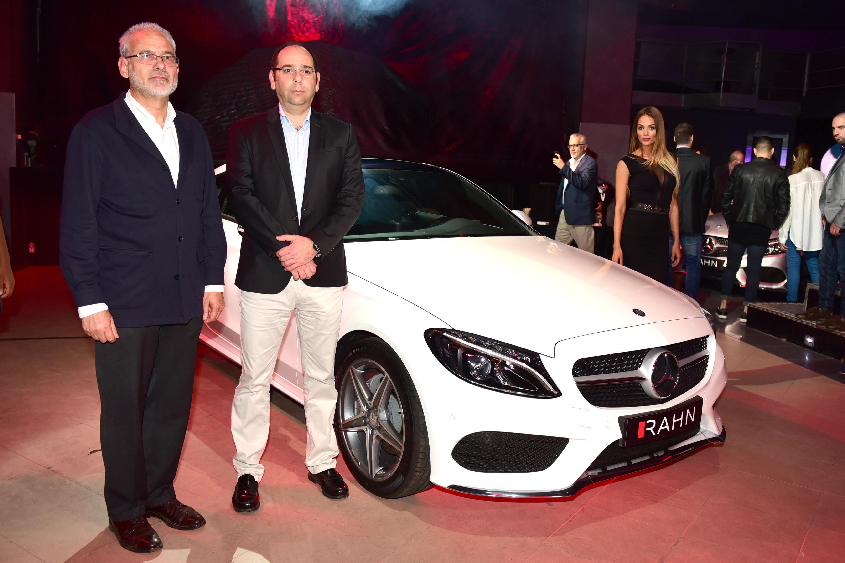 Rahn presenta en Tenerife        el nuevo Mercedes C Coup