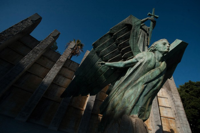 Monumento a Franco en la Rambla de Santa Cruz. / Fran Pallero