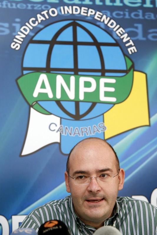 Pedro Crespo preside Anpe. / DA