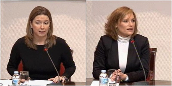 María José Bravo de Laguna y María Antonia Álvarez. / DA