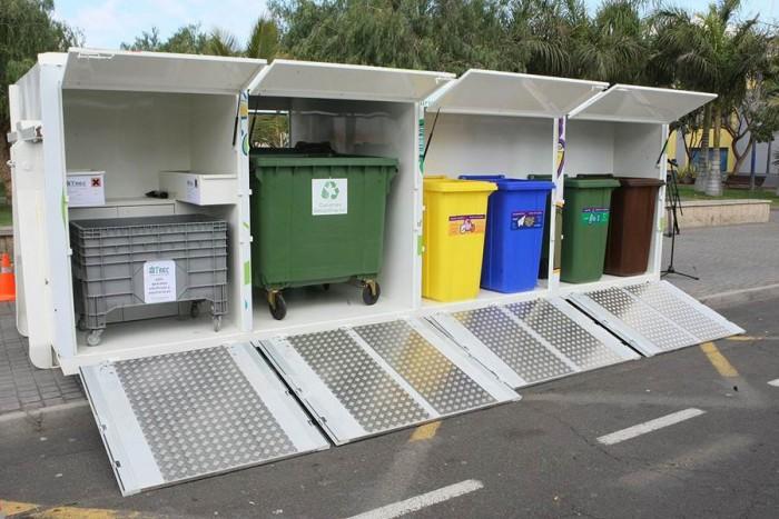 Hasta ahora la recogida de residuos específicos se realizaba en los ecopuntos. | DA