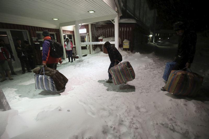 El Gobierno de Suecia se plantea deportar a 80.000 solicitantes de asilo