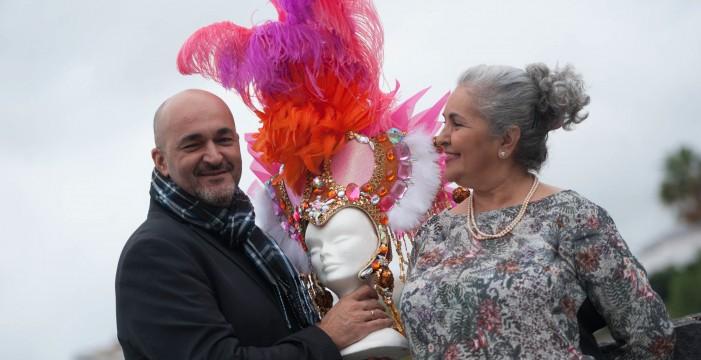 La comparsera a la que su hermano hizo reina del Carnaval