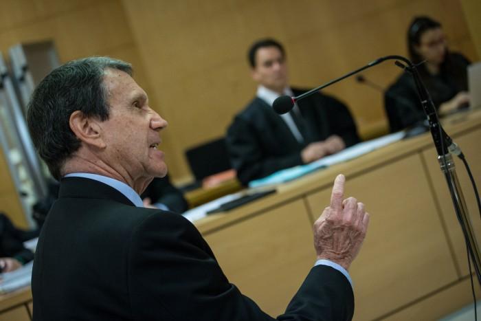 Roberto de Luis, desfiante y soberbio en su declaración. / ANDRÉS GUTIÉRREZ