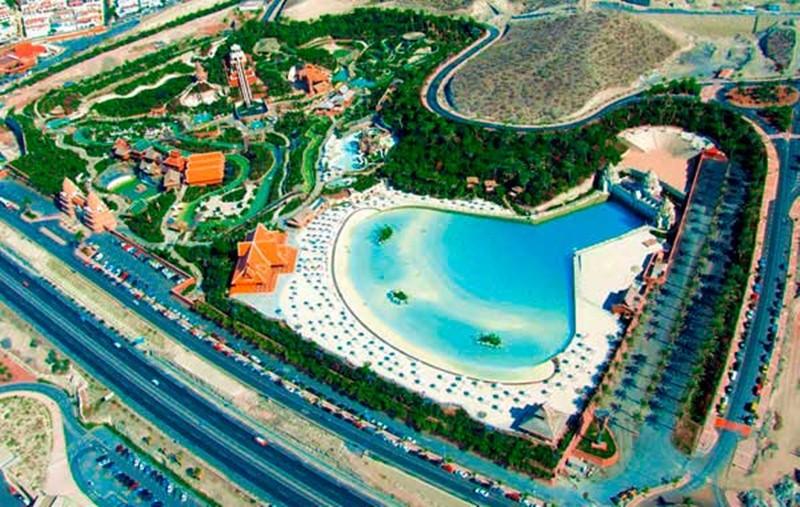 Imagen de archivo del Siam Park, en el sur de Tenerife. / DA