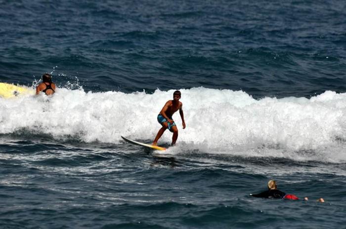 La práctica de deportes es una de las experiencias que se quieren incentivar en Puerto de la Cruz. | M. P. P.
