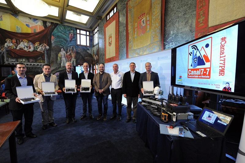 Imagen del acto de presentación celebrado ayer en el Cabildo de Tenerife. / DA