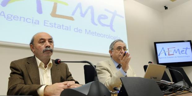 Antonio Mestre (izquierda)./ AEMET