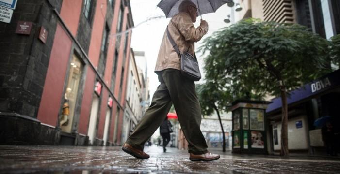 El temporal deja en el norte y el área metropolitana de Tenerife entre 30 y 80 litros