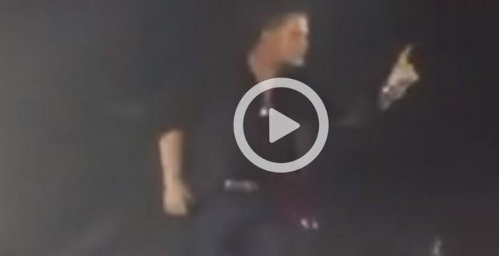 Alejandro Sanz expulsa a un maltratador de su concierto en México